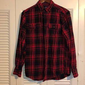 Men's plaid top